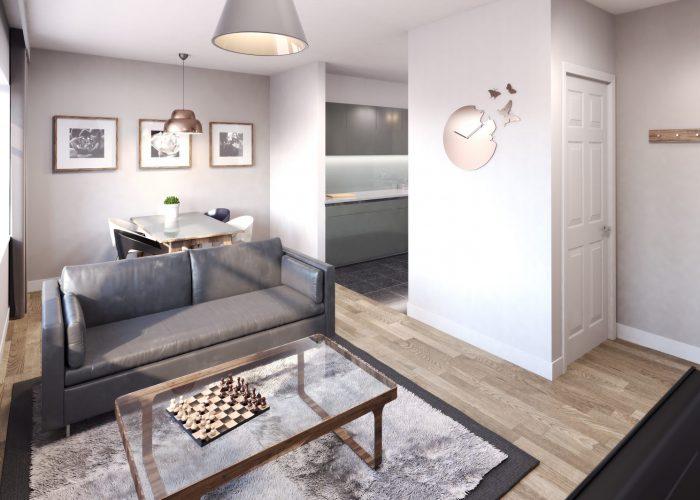 Silkhouse Court Living Room